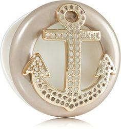 Gold Bling Anchor Scentportable Holder - Slatkin & Co. - Bath & Body Works