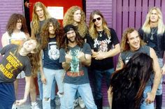 Deicide and cannibal corpse back in the day. Metal Bands, Rock Bands, Cannibal Corpse, Six Feet Under, Thrash Metal, Alternative Music, Death Metal, Music Stuff, Black Metal