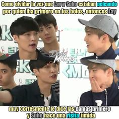 Suho, Chanbaek, Memes Historia, Memes Exo, Drama Memes, Kpop Exo, Bts And Exo, Meme Faces, Super Junior