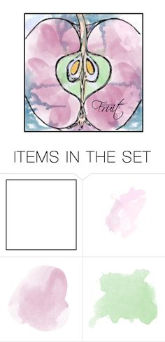 """""""Playing with Watercolor"""" by alyssastar ❤ liked on Polyvore featuring art"""