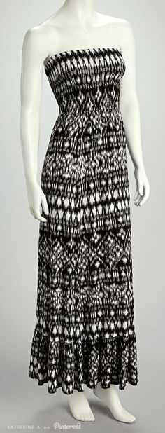 I've got a lookalike to this maxi dress so I guess if it's on Pinterest it's in style!