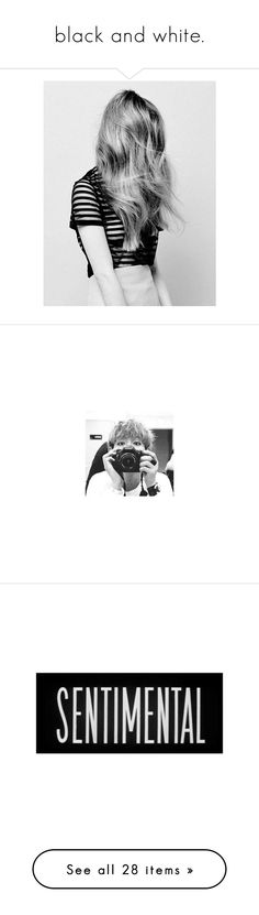 """""""black and white."""" by iced-lemons ❤ liked on Polyvore featuring pictures, photos, people, art sets, backgrounds, bts, k-pop, v, text and words"""