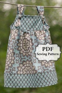 cute little girl dress pattern by maria Closet amp; Plate | Big Fashion Show little girls dresses