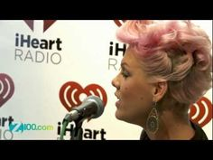 """Pink - """" Who Knew """" acoustic performance @ Z100 on July 10,2012"""