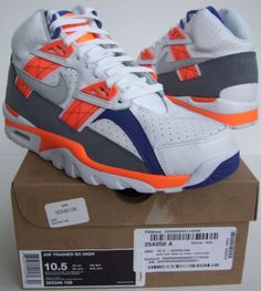 big sale 5942c daffe The Total Orange Nike Air Trainer SC