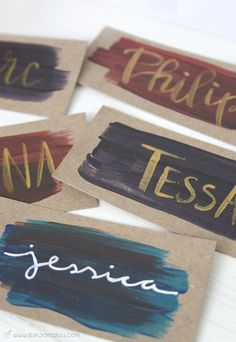 Last minute DIY gift ideas - and gift tags. DIY last minute gift ideas name tag. We're invited to a birthday party this weekend. So I had to pick my brain for last minute gift ideas. Here's a round up for 3 last minute DIY gifts. Ra Door Tags, Door Decs, Dorm Name Tags, Sorority Name Tags, Reggio Emilia, Dorm Themes, Dorm Door Decorations, Resident Assistant, Last Minute Gifts