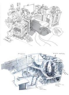 Artes e Design de Jim Martin para Big Hero 6!   THECAB - The Concept Art Blog