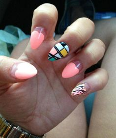Weekend Nails #manicure #nailart