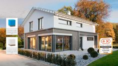 Fertighaus WEISS - Musterhaus Ulm Style At Home, World Trade, Design Awards, The Expanse, Facade, Sweet Home, House Styles, Home Decor, Future