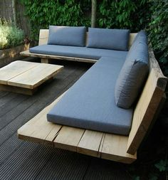 45 Best DIY Outdoor Bench Ideas for Seating in The Garden - .- 45 Best DIY Outdoor Bench Ideas for Seating in The Garden – Decorating Ideas 45 Best DIY Outdoor Bench Ideas for Seating in The Garden - Modern Outdoor Furniture, Furniture Decor, Backyard Furniture, Wooden Garden Furniture, Luxury Furniture, Furniture Layout, Out Door Furniture, Outside Furniture Patio, Diy Patio Furniture Cheap