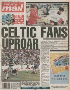 Celtic  Hibernian  In Oct  At Parkhead Newspaper Report On