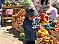 Latacunga Indian Market, Ecuador