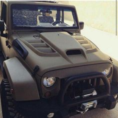 Jeep hood.