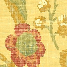 WENZEL, Yellow, T7173, Collection Tamarind from Thibaut