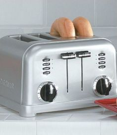 Cuisinart 4Slice Brushed Stainless Metal Classic Toaster #Dillards