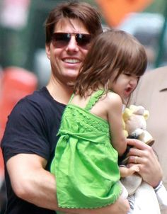 Suri Cruise and Tom Cruise - Tom Cruise Takes Suri Cruise For A Helicopter Ride