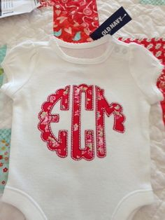 Scalloped Circular Monogram HTD HAVE