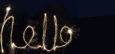 More ideas on sparkler photography