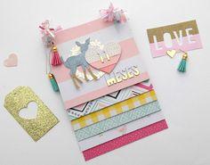 Abum en escala Mini Albums Scrap, Mini Scrapbook Albums, Scrapbook Journal, Chicken Scratch Embroidery, Diy Crafts For Girls, Mini Album Tutorial, Mini Books, Scrap Books, Ideas
