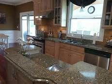 maple cabinets and cambria quartz windsor