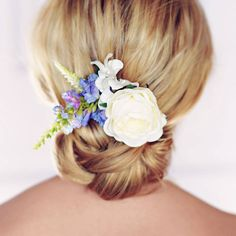 Tilly Rose Hair Clip - Gypsy Rose Vintage on notonthehighstreet.com