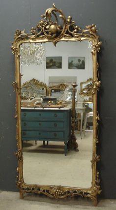 Stunning large 18th century Louis XV mirror from www.jasperjacks.com