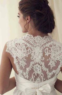 Stunning Lace Back