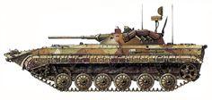 BRM-1K, Vehículo de reconocimiento, distrito militar del Caucaso, operación Kavkaz-85, 1985. Pin by Paolo Marzioli
