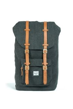 a8321e7c9b Little America Canvas Backpack - Washed Black