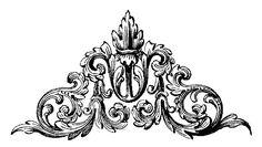 Baroque Tattoo, Filigree Tattoo, Vintage Frames, Vintage Prints, Tatoo 3d, Stencils, Door Murals, Lace Embroidery, Vintage Ephemera