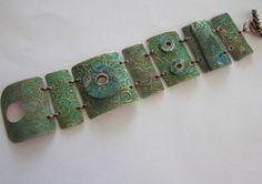 Verdigris Patina Bracelet (Customer Design) - Lima Beads