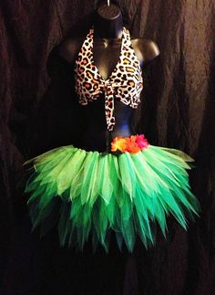 Katy Perry Roar Costume Outfit jungle tutu by tutufactory, $28.00