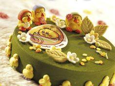 Bald ist Ostern! Hier haben wir noch eine österliche Torte aus unserer Musterküche für Sie!