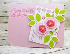 Paper Smooches - Calico Happy Birthday Daughter