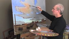 In this http://ArtistsNetwork.tv video tutorial you will create drama in the landscape with sunset-lit clouds and reflected light, focusing on chroma (intensity of color), perspective, and the subtleties of modeling clouds. As you complete this demonstration from start to finish, follow Brians oil painting tips and techniques for success!