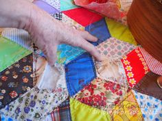 How to repair a vintage quilt