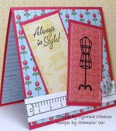 """Always in Style"" card using SU Sew Suite by StampinAK"