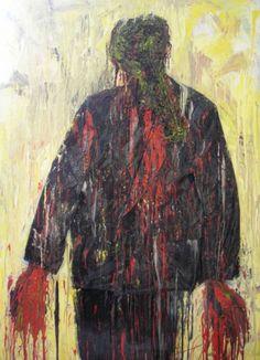 #PROYECTO365: 140 - YO, LA VIOLENCIA, EL VIOLENCIO Photo And Video, Painting, Painting Art, Paintings, Painted Canvas, Drawings
