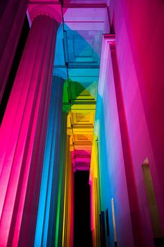 The Auckland Museum shifted colour to support the gay week