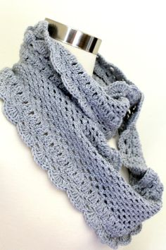 Crochet cowl, inspiration