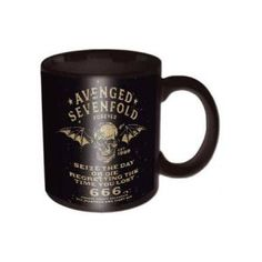 Avenged Sevenfold Sieze Day Box Mug - Sieze the Day while you fuel up with your morning joe in this awesome Avenged Sevenfold Sieze Day Box Mug.