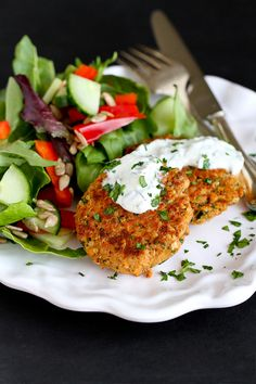slaw salmon cakes with moroccan salmon cakes with garlic mayonnaise ...