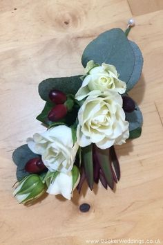 Wedding Flowers Liverpool, Merseyside, Bridal Florist, Booker Flowers and Gifts, Booker Weddings White Spray Roses, White Roses, Pool Wedding, Wedding Venues, Wedding Corsages, Button Holes Wedding, Winter Wedding Flowers, Flower Delivery, Buttonholes