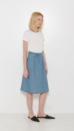 A.P.C. Bellona Skirt | The Dreslyn