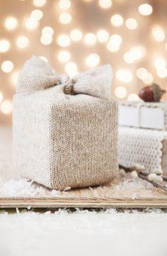 Knit Wrap Gift