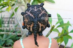 Cornrowed Shamrock Hairstyle Created with Scorpion Hearts #StPatricksDay | Chocolate Hair / Vanilla Care