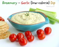 Rosemary and garlic dip Appetizer Dips, Appetizer Recipes, Healthy Eating Recipes, Cooking Recipes, Healthy Food, Sauce Dips, Sauces, Side Recipes, Hors D'oeuvres