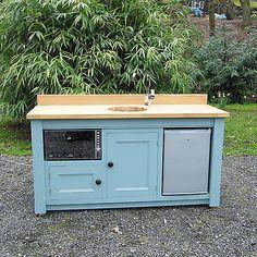 New mini compact kitchen freestanding sink unit shepherds hut hand painted F.B. | Home, Furniture & DIY, Kitchen Plumbing & Fittings, Kitchen Units & Sets | eBay!