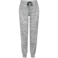 TOPSHOP MATERNITY Space Dye Lounge Joggers ($52) ❤ liked on Polyvore featuring maternity, pants, bottoms, calça and grey