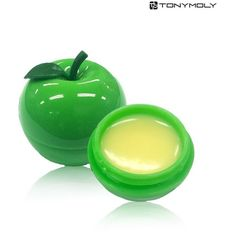 [TONYMOLY] Mini Lip Balm 7g (Green Apple) (€30) ❤ liked on Polyvore featuring beauty products, skincare, lip care, lip treatments and tonymoly